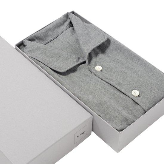 グレーネルナイトシャツ