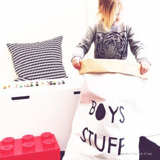 BOYS STUFF paper bag