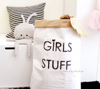 GIRLS STUFF paper bag