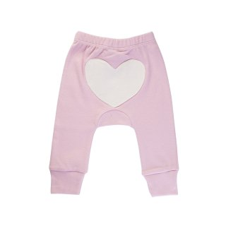 Heart Pants Color Pink