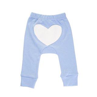 Heart Pants Color Blue