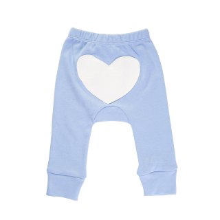 30% OFF Heart Pants Color Blue