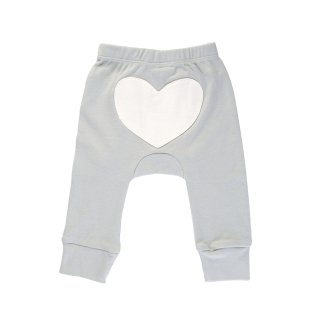 Heart Pants Color Gray