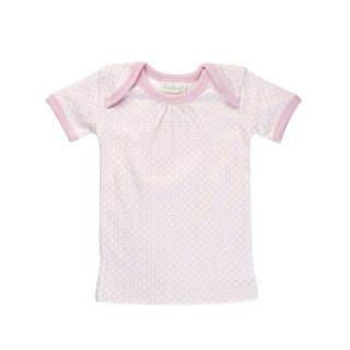 30% OFF Short Sleeve T-Shirt Color Pink