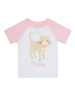 30% OFF T-Shirt Cat キャット柄-PINK