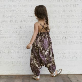 Harem Jumpsuit Palm