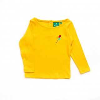 Pointelle Long Sleeve Tee  Color Yellow(イエロー)