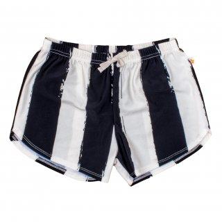 Swim Short Black Stripes ベビー&ボーイズ スイムショーツ-ブラックストライプ