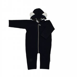 SALE Baby Jumpsuit-Navy ベビージャンプスーツ ネイビー