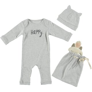 Baby Romper Set HAPPY