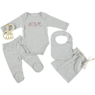 Baby Bodysuit Set LOVE