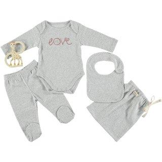30% OFF Baby Bodysuit Set LOVE