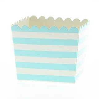 Favor Box-Blue Stripes set of 6