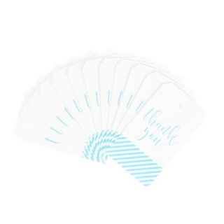 Thank you Tag-Blue<br>Set of 12