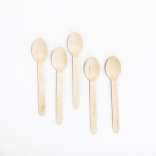 Wood Spoons Set of 12