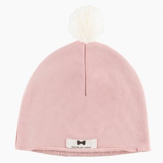 Pom Pom Hat Powder Pink ポンポンハット 30% off
