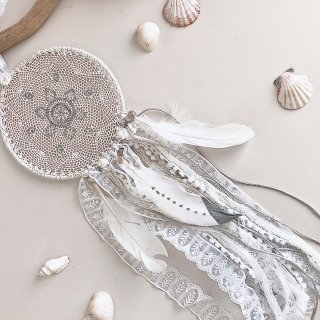 Dream Catcher - L size /// Luxury White