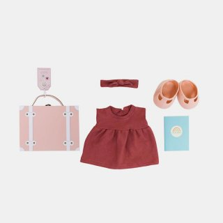 DINKUM DOLL TRAVEL TOGS /// ROSE