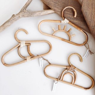RATTAN MINI HANGER for KIDS /// Set(3本セット)