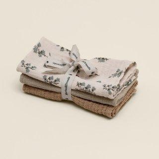 Bluebell Muslin Burp Cloths