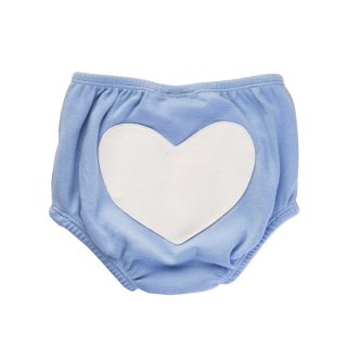 30% OFF Heart Bloomers Color Blue