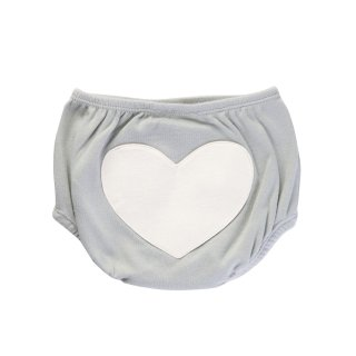 Heart Bloomers Color Grey