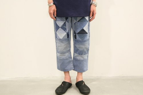<img class='new_mark_img1' src='//img.shop-pro.jp/img/new/icons47.gif' style='border:none;display:inline;margin:0px;padding:0px;width:auto;' />Children of the discordance / OLD PATCH DENIM PANTS(BLUE)
