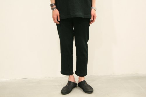 CITY / yoryu easy slacks(BLACK)