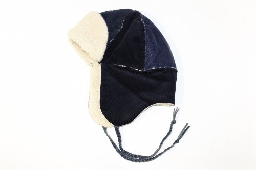Children of the discordance / × SEMBL HANDMADE VINTAGE HAT(NAVY)