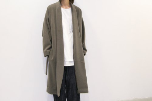 <img class='new_mark_img1' src='//img.shop-pro.jp/img/new/icons47.gif' style='border:none;display:inline;margin:0px;padding:0px;width:auto;' />CITY / lambs wool gown coat(BEIGE)