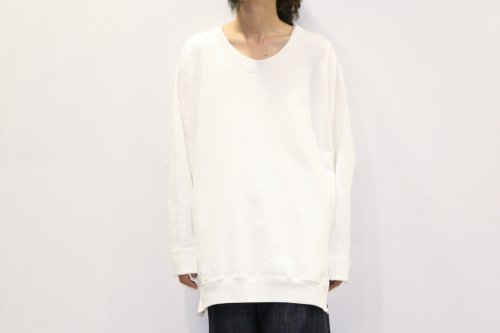 <img class='new_mark_img1' src='//img.shop-pro.jp/img/new/icons47.gif' style='border:none;display:inline;margin:0px;padding:0px;width:auto;' />ATELIER BÉTON / OVERSIZED SWEATSHIRTS(WHITE)
