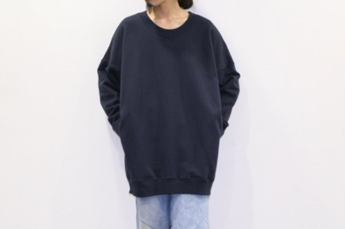 <img class='new_mark_img1' src='https://img.shop-pro.jp/img/new/icons47.gif' style='border:none;display:inline;margin:0px;padding:0px;width:auto;' />ATELIER BÉTON / OVERSIZED SWEATSHIRTS(NAVY)