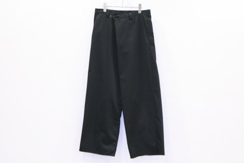<img class='new_mark_img1' src='//img.shop-pro.jp/img/new/icons47.gif' style='border:none;display:inline;margin:0px;padding:0px;width:auto;' />THEE / WIDE typeB - 2way wide work pants(BLACK)