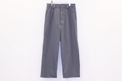 <img class='new_mark_img1' src='//img.shop-pro.jp/img/new/icons47.gif' style='border:none;display:inline;margin:0px;padding:0px;width:auto;' />THEE / WIDE typeA - 2tuck wide work pants(CHARCOAL)