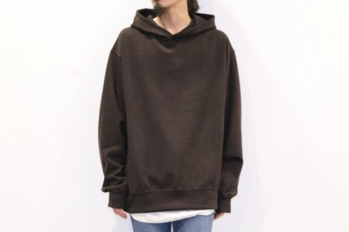 <img class='new_mark_img1' src='//img.shop-pro.jp/img/new/icons2.gif' style='border:none;display:inline;margin:0px;padding:0px;width:auto;' />THEE / wool punch pullover hoodie(BROWN)