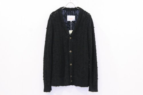 <img class='new_mark_img1' src='https://img.shop-pro.jp/img/new/icons47.gif' style='border:none;display:inline;margin:0px;padding:0px;width:auto;' />CITY / yarn float stitch cardigan(BLACK)