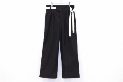 <img class='new_mark_img1' src='https://img.shop-pro.jp/img/new/icons47.gif' style='border:none;display:inline;margin:0px;padding:0px;width:auto;' />ANITYA - SAMSARA / GURKHA PANTS(BLACK)