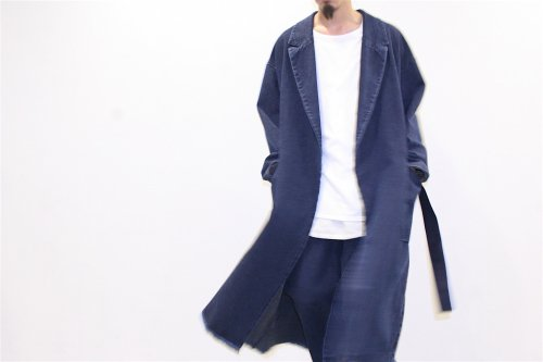 <img class='new_mark_img1' src='//img.shop-pro.jp/img/new/icons47.gif' style='border:none;display:inline;margin:0px;padding:0px;width:auto;' />ATELIER BÉTON /SASICO CONCEAL COAT(INDIGO)