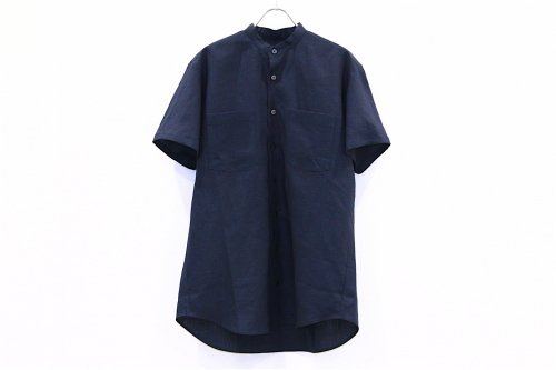 <img class='new_mark_img1' src='https://img.shop-pro.jp/img/new/icons47.gif' style='border:none;display:inline;margin:0px;padding:0px;width:auto;' />Natsumi Zama /Herdmans Linen Men's Shirt(NAVY)