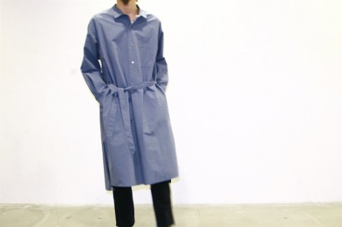 <img class='new_mark_img1' src='//img.shop-pro.jp/img/new/icons2.gif' style='border:none;display:inline;margin:0px;padding:0px;width:auto;' />ATELIER BÉTON /NIGHT LONG SHIRT(SMOKE NAVY)