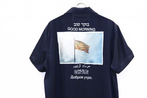 <img class='new_mark_img1' src='//img.shop-pro.jp/img/new/icons47.gif' style='border:none;display:inline;margin:0px;padding:0px;width:auto;' />Children of the discordance / GOOD MORNING SHIRT(NAVY)