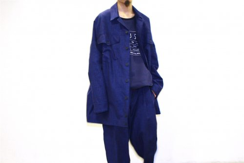<img class='new_mark_img1' src='//img.shop-pro.jp/img/new/icons47.gif' style='border:none;display:inline;margin:0px;padding:0px;width:auto;' />house of the very island's... / DENIM JACKET COAT(DARK BLUE)