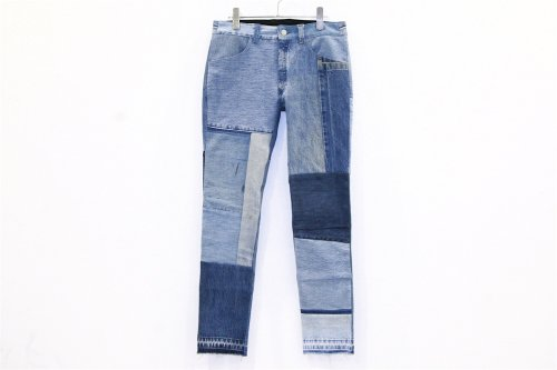 <img class='new_mark_img1' src='//img.shop-pro.jp/img/new/icons2.gif' style='border:none;display:inline;margin:0px;padding:0px;width:auto;' />Children of the discordance / VINTAGE PATCH DENIM PANTS(BLUE・SIZE1) pattern B