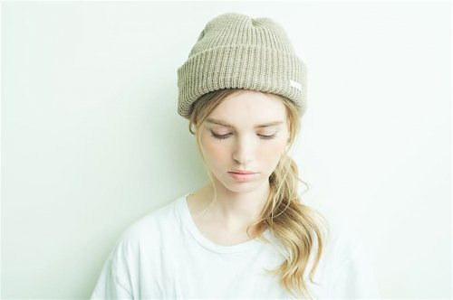 <img class='new_mark_img1' src='//img.shop-pro.jp/img/new/icons47.gif' style='border:none;display:inline;margin:0px;padding:0px;width:auto;' />cobachi / wool watch cap(SAND BEIGE)