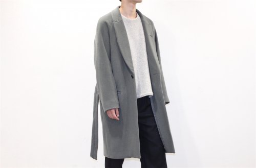 [予約商品] ATELIER BÉTON / MORNING COAT(KHAKIGRAY)