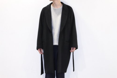 [予約商品] ATELIER BÉTON / MORNING COAT(BLACK)