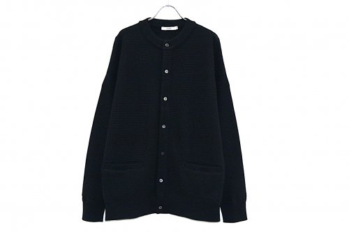 [予約商品] YASHIKI / Hakugin Cardigan(BLACK)