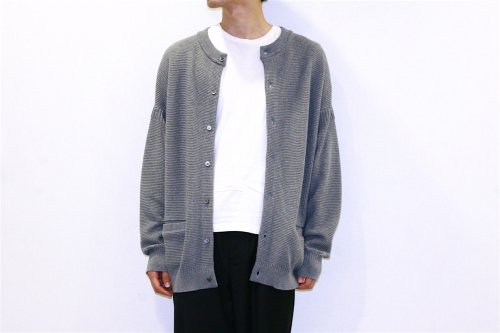 [予約商品] YASHIKI / Hakugin Cardigan(GRAY)