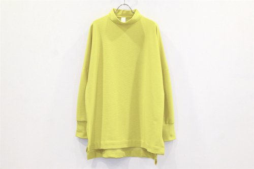<img class='new_mark_img1' src='//img.shop-pro.jp/img/new/icons2.gif' style='border:none;display:inline;margin:0px;padding:0px;width:auto;' />Natsumi Zama / GRANDMA'S KNIT TOP(YELLOW)