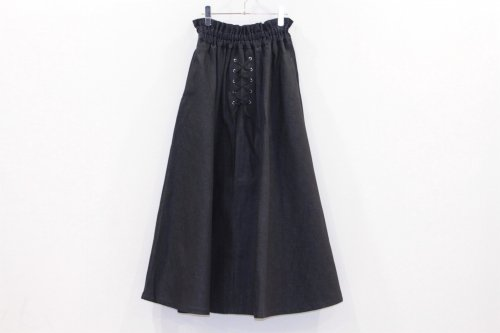 <img class='new_mark_img1' src='https://img.shop-pro.jp/img/new/icons47.gif' style='border:none;display:inline;margin:0px;padding:0px;width:auto;' />Natsumi Zama / ELVIS'S LONG DENIM SKIRT(NAVY)